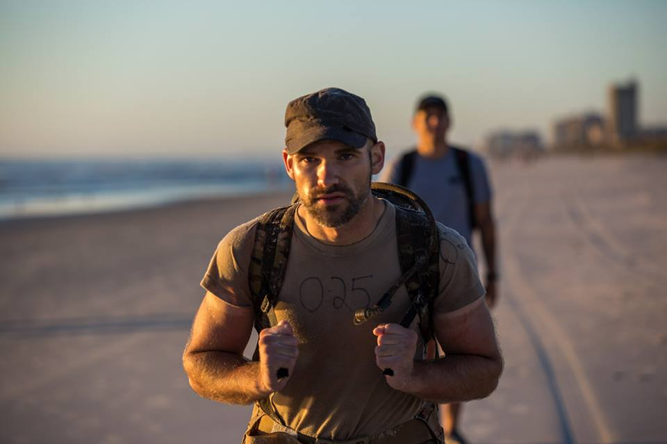 025 is going to make it! This is picture is from this morning on the long walk. He looks as fresh as when he showed up. 1000 yard stare, healthy, and strong. To make it in this event, this is what you have to have. 42 hours of constant, intense beatdown with no food and you are stronger at the end than the beginning. Hats off to you 025. You are an inspiration. Finish this thing!!