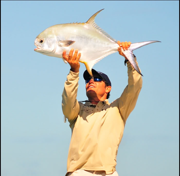 You need to strong overhead in case you catch an awesome fish and want to show it to the world