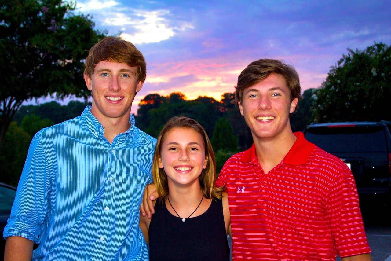 I am so proud of all my children. Today is Turner's day. He is the one in the blue shirt. I am a very lucky man to have a family like I do. I am very grateful. Happy Birthday Turner.