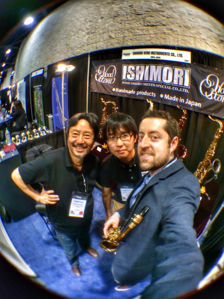 With Ishimori.