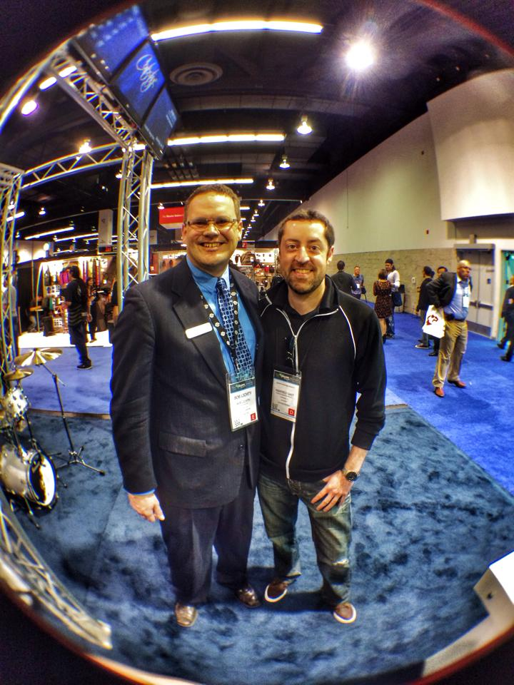With Bob Lichty.