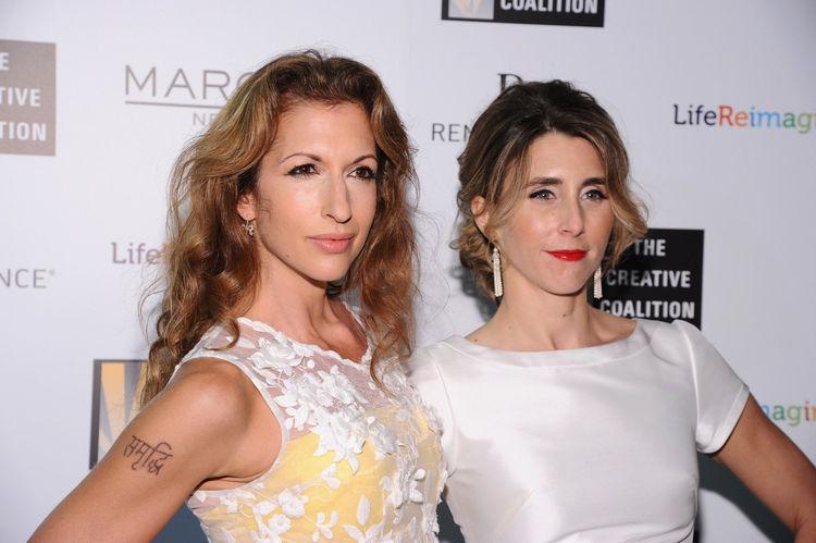 Alysia Reiner and Sarah Megan Thomas