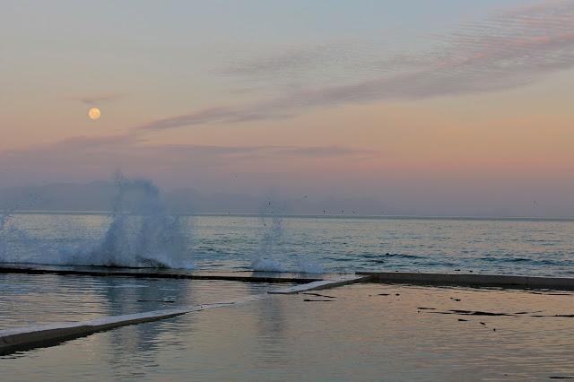 super moon beach wave cape town