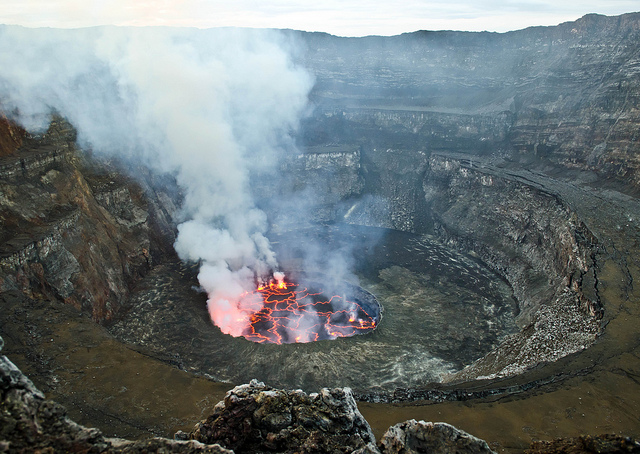 Nyiragongo Volcano Lava by tereseheart Flickr
