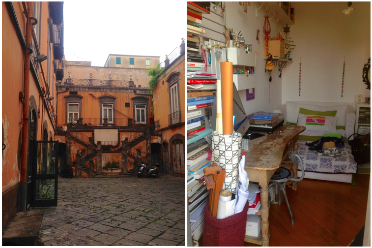 Naples and Milan, Italy