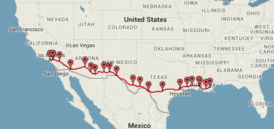amtrak sunset limited route.png