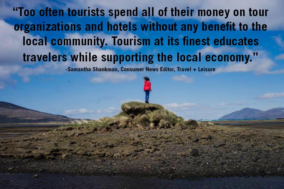 Photo Via  Travel+Socialgood