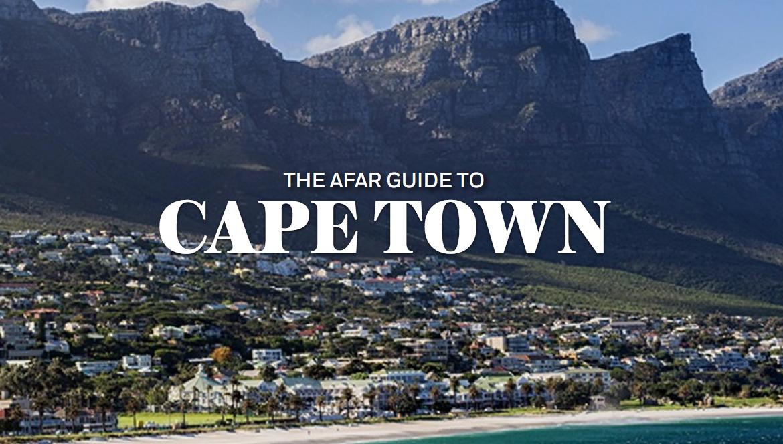 The  AFAR  Guide to Cape Town ,   AFAR   (2013 - present)