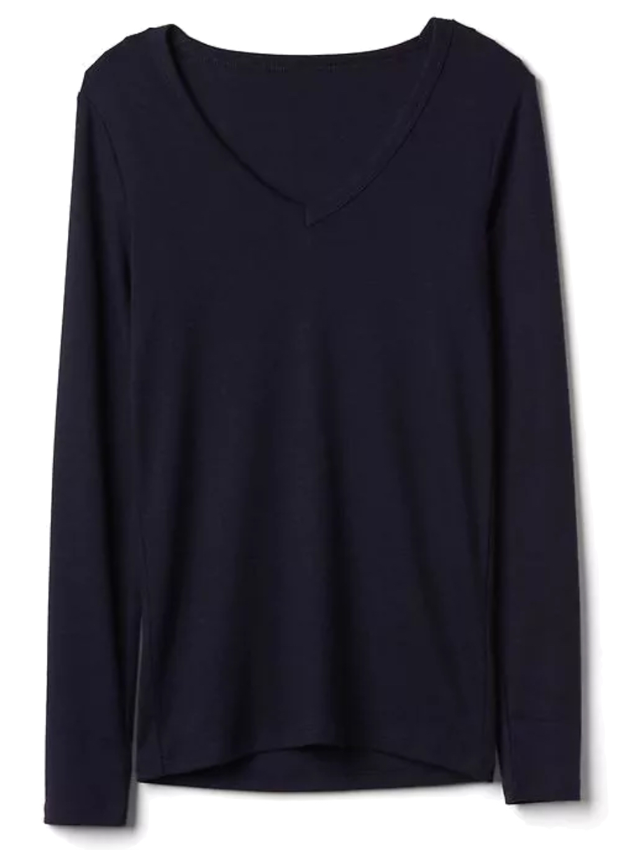 Gap Long sleeve modern v-neck