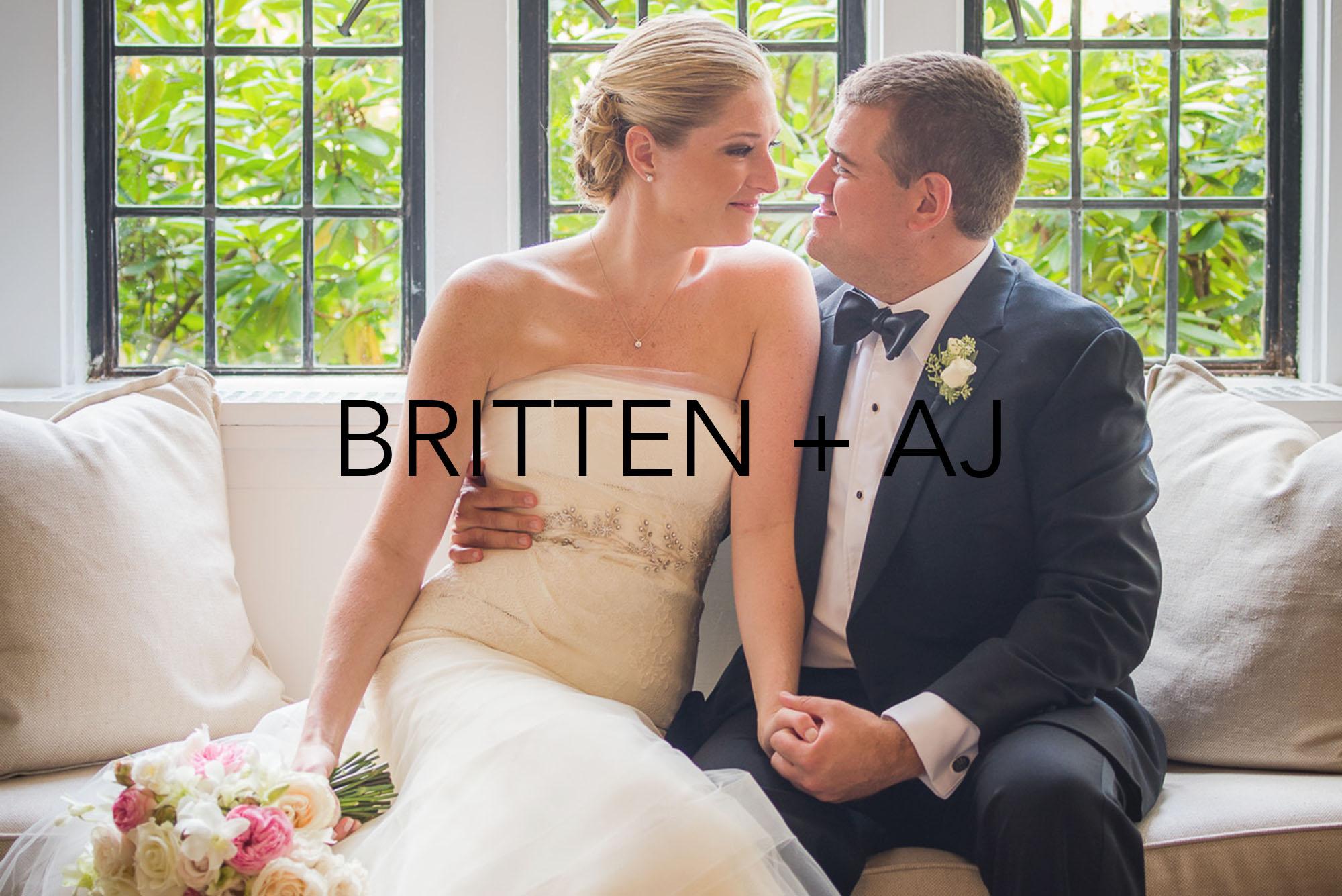 The Wedding of Britten and AJ at the Tuxedo Club, Tuxedo, NY. (Craig Warga Weddings)