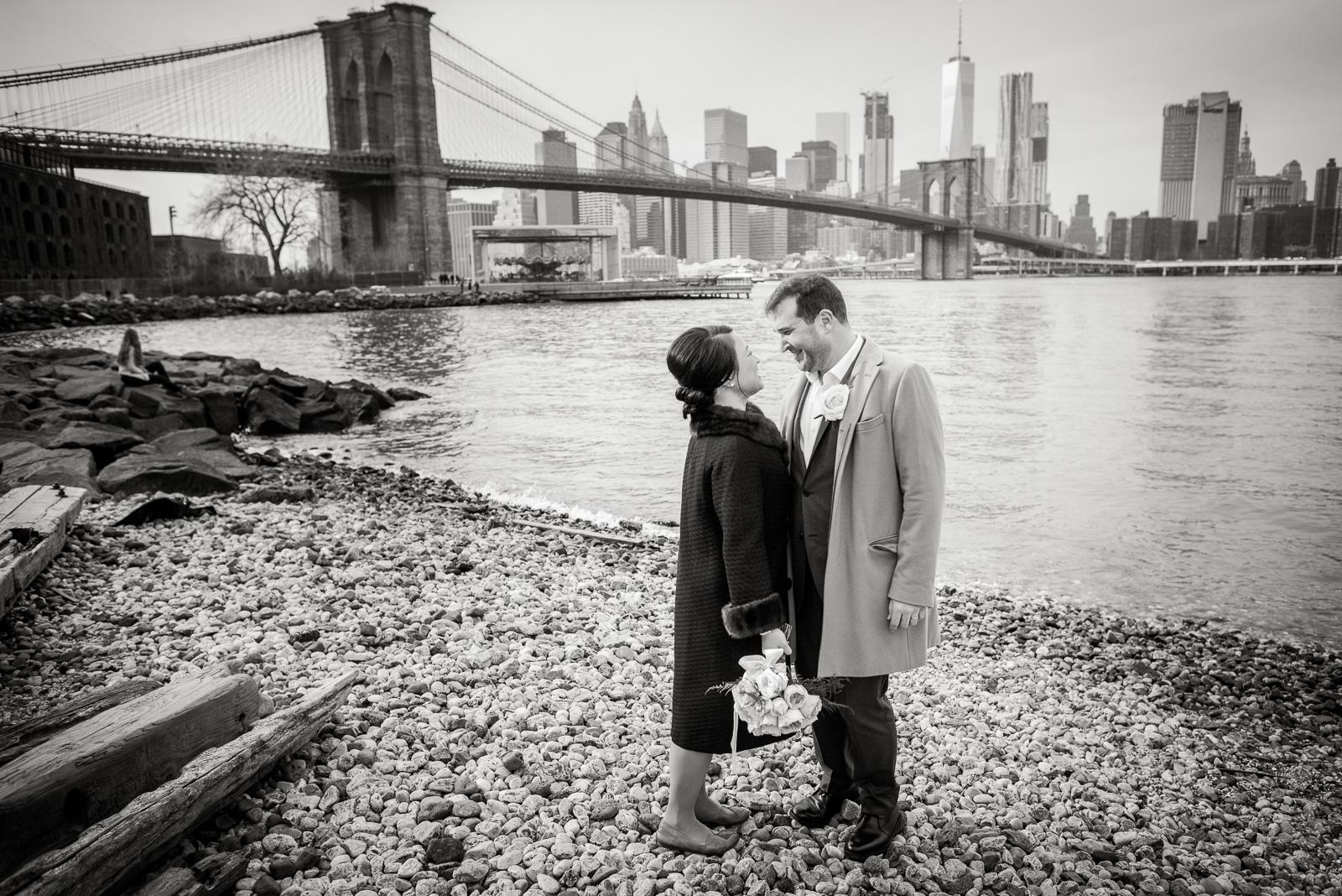 New York City Hall Elopement Wedding Photos