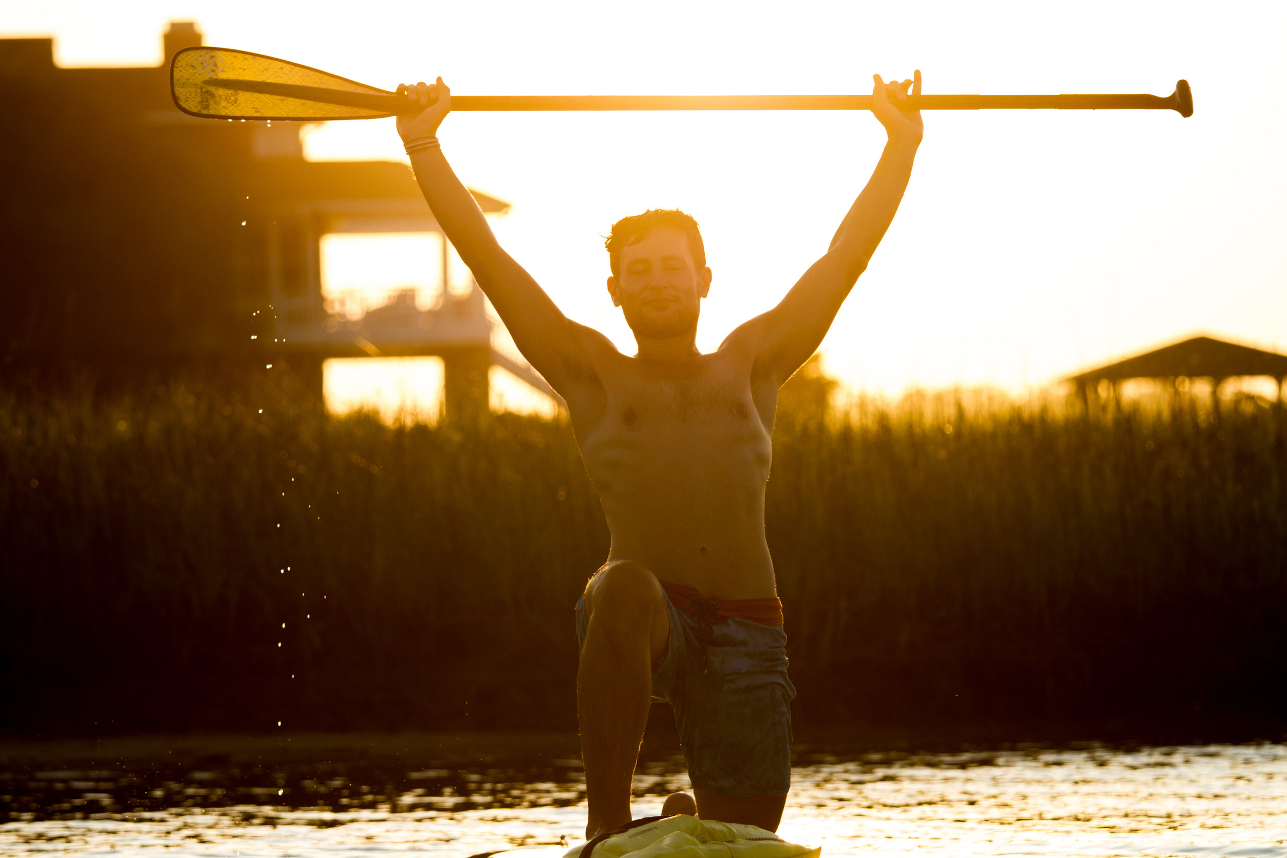 Yoga Sup Golden Hour Trey Casey (12 of 26).jpg