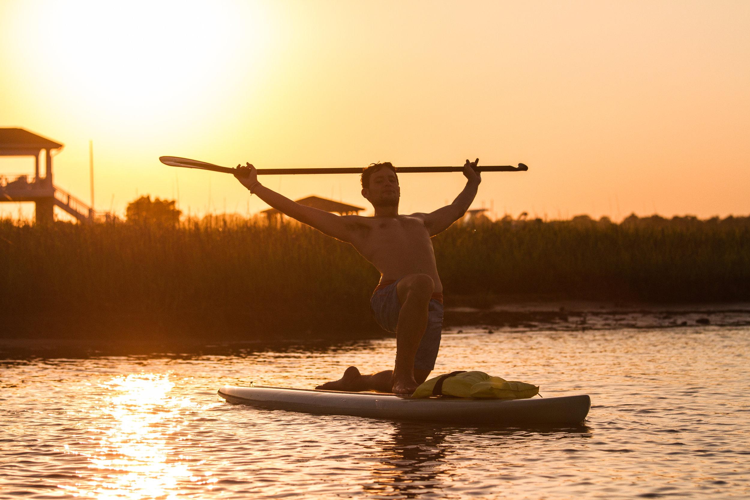 Yoga Sup Golden Hour Trey Casey (13 of 26).jpg