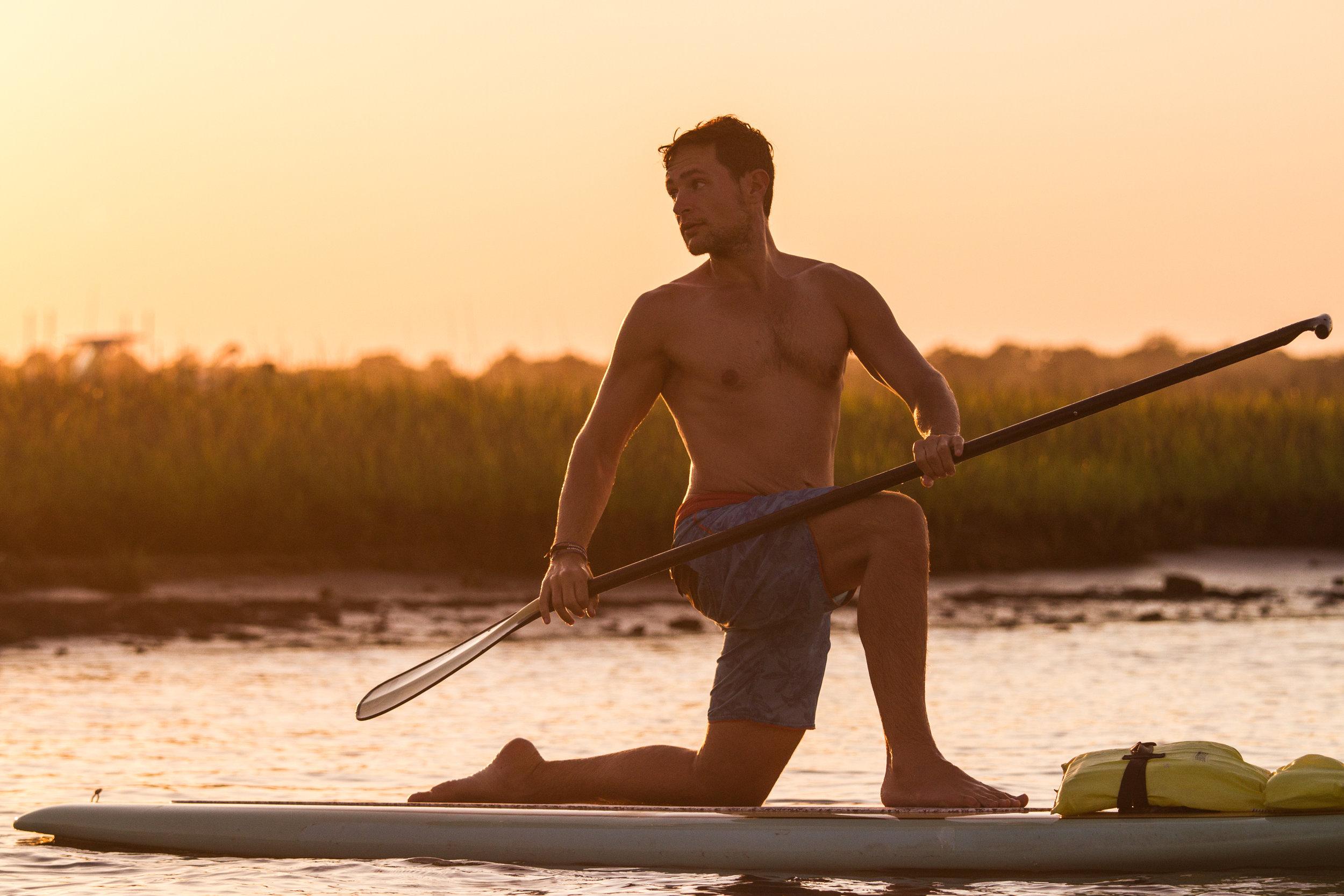 Yoga Sup Golden Hour Trey Casey (14 of 26).jpg