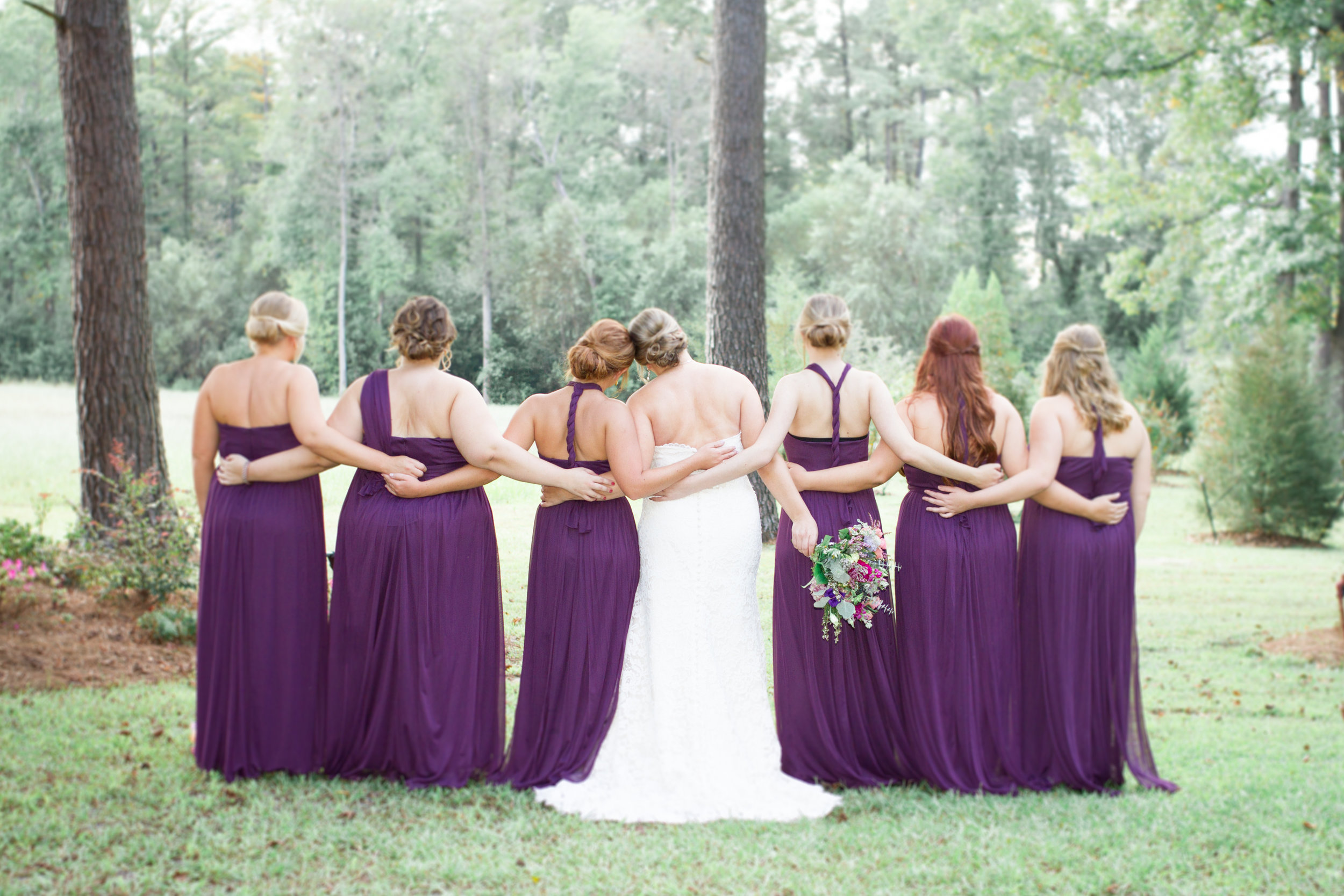 Fall Wedding Photography at Long Creek Farms