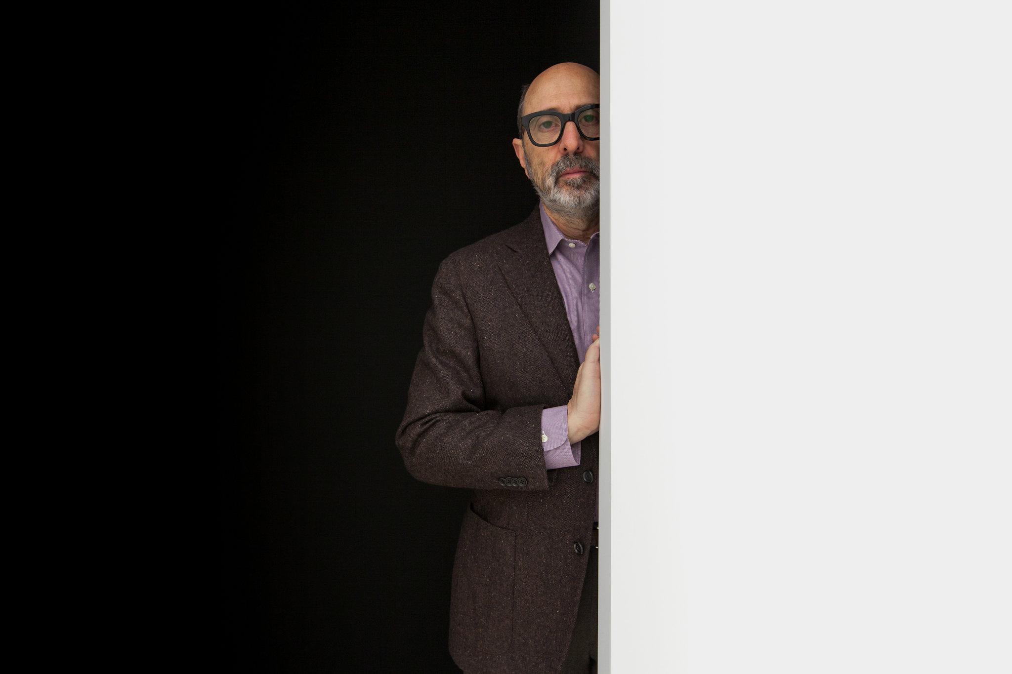 Architect Isay Weinfeld in TriBeCa, NY