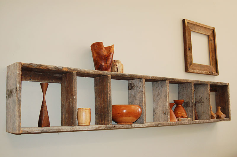 Wooden Vases and Bowls