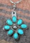 navajo-8pc-turquoise-cluster-pendant-w-chain-v.benally-754M-1.jpg