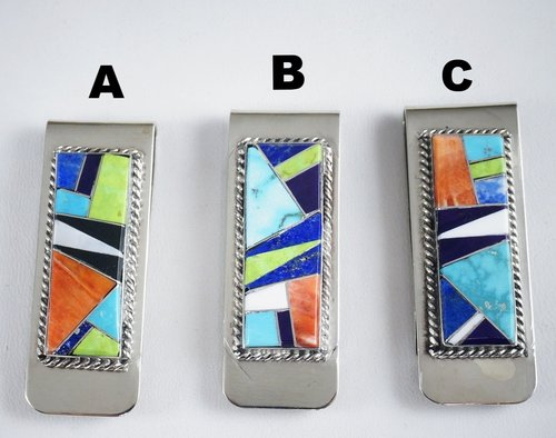 zuni-multistone-geometrical-inlay-silver-money-clips-yazzie-863T.jpg
