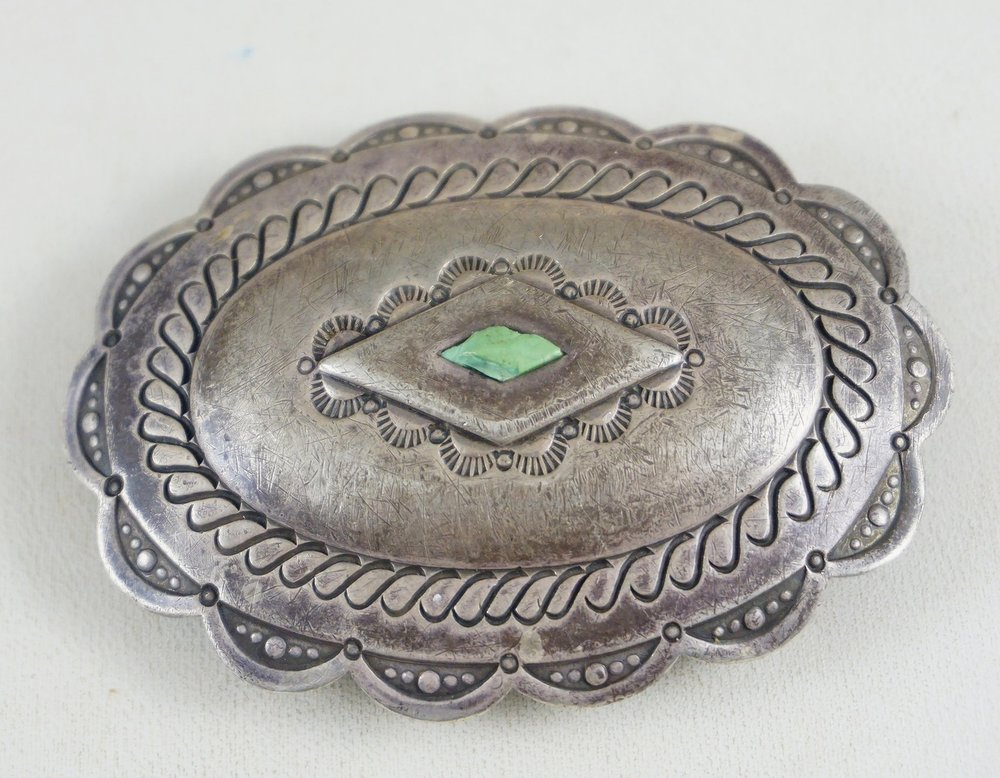 f46aa061b Native American Turquoise Belt Buckles- EAGLE ROCK TRADING POST ...