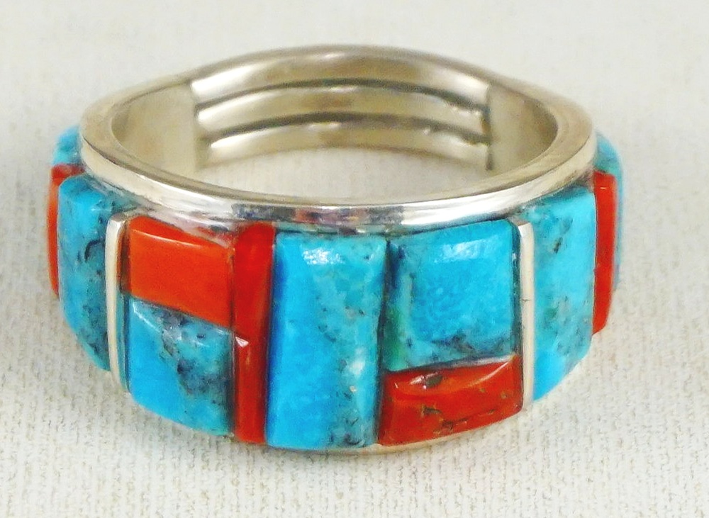 e58a309f9 Native American Men's & Women's Ring Bands- EAGLE ROCK TRADING POST ...