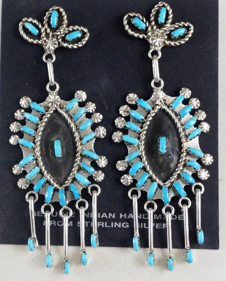 d903e56e8 Native American Turquoise Earrings- EAGLE ROCK TRADING POST-Native ...
