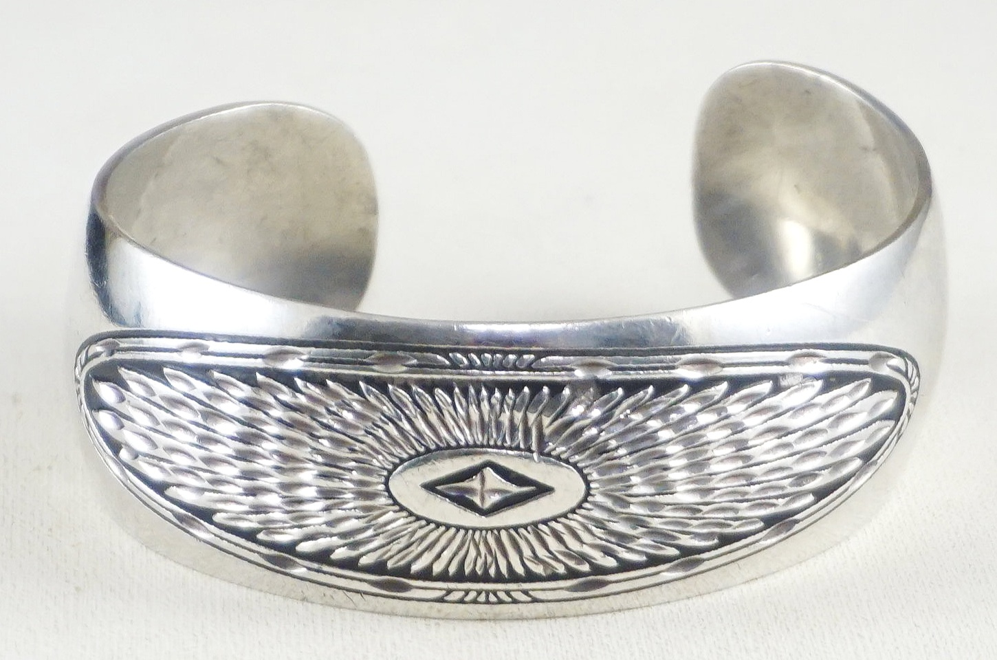 Native American Silver & Gold Bracelets- EAGLE ROCK TRADING
