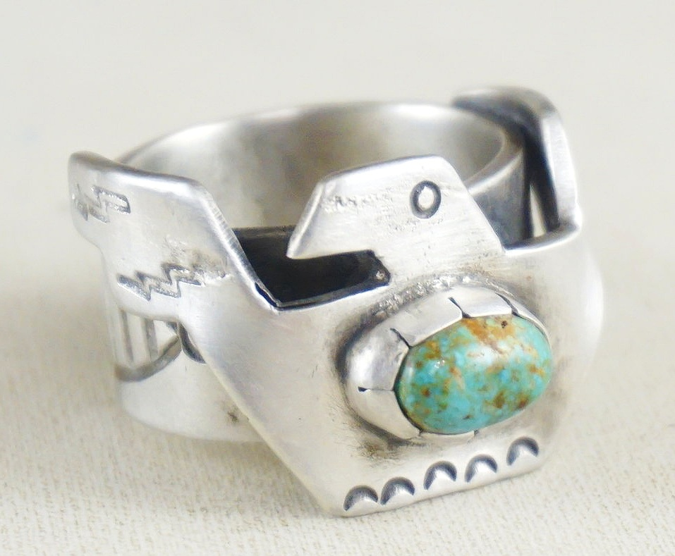 Men's Native American Turquoise Rings- EAGLE ROCK TRADING POST