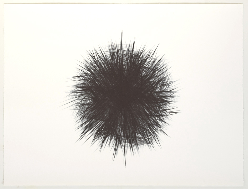 """Ruled (untitled drawing) ink on paper 30""""x39"""""""