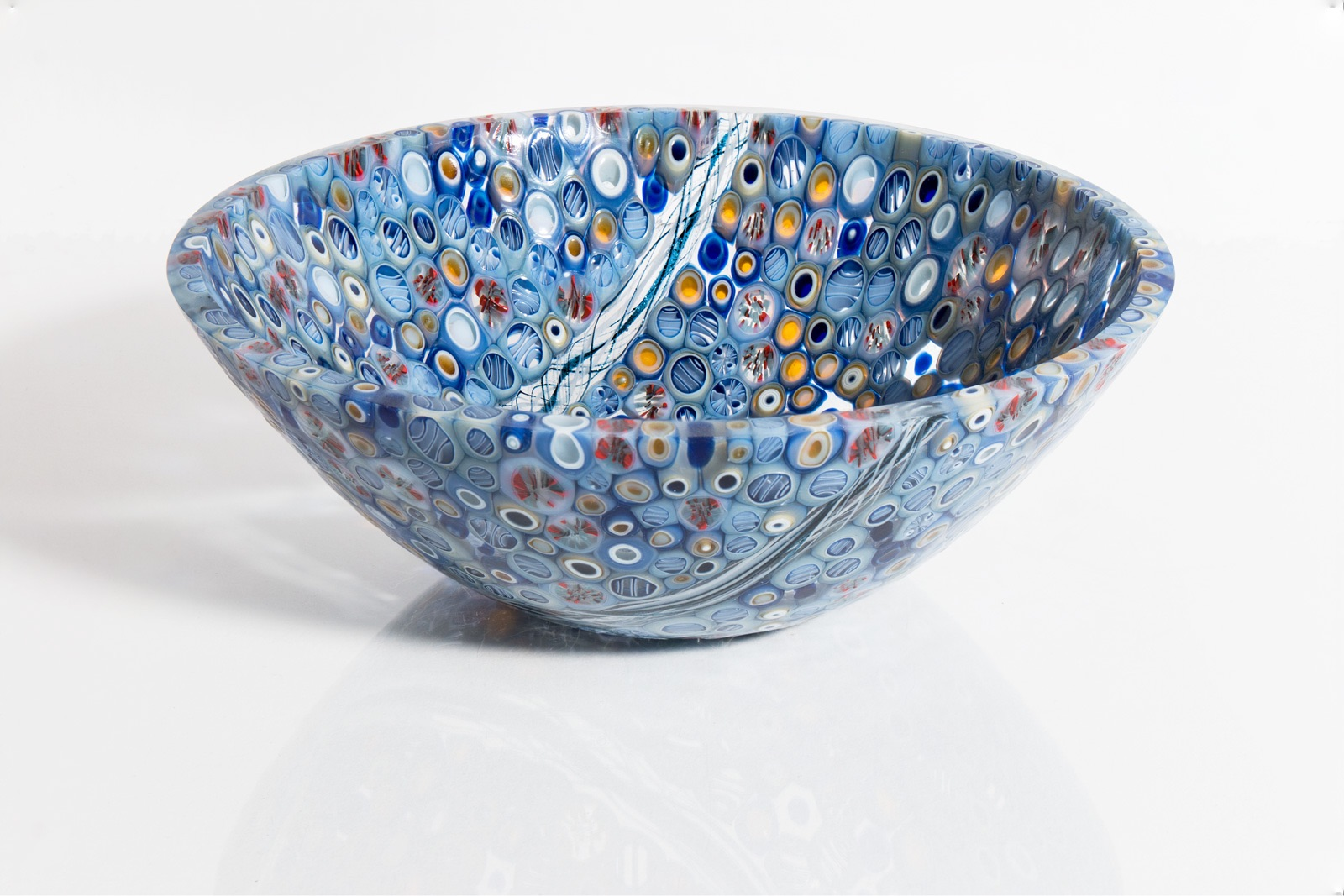 Blue Drop Bowl