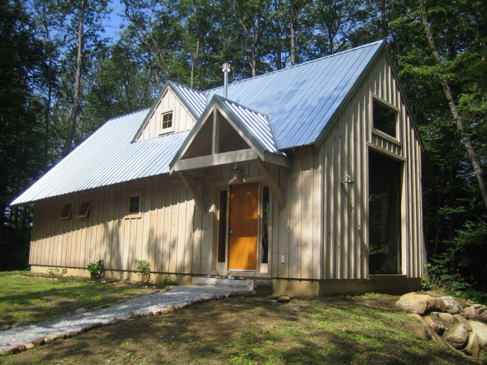 Existing cabin
