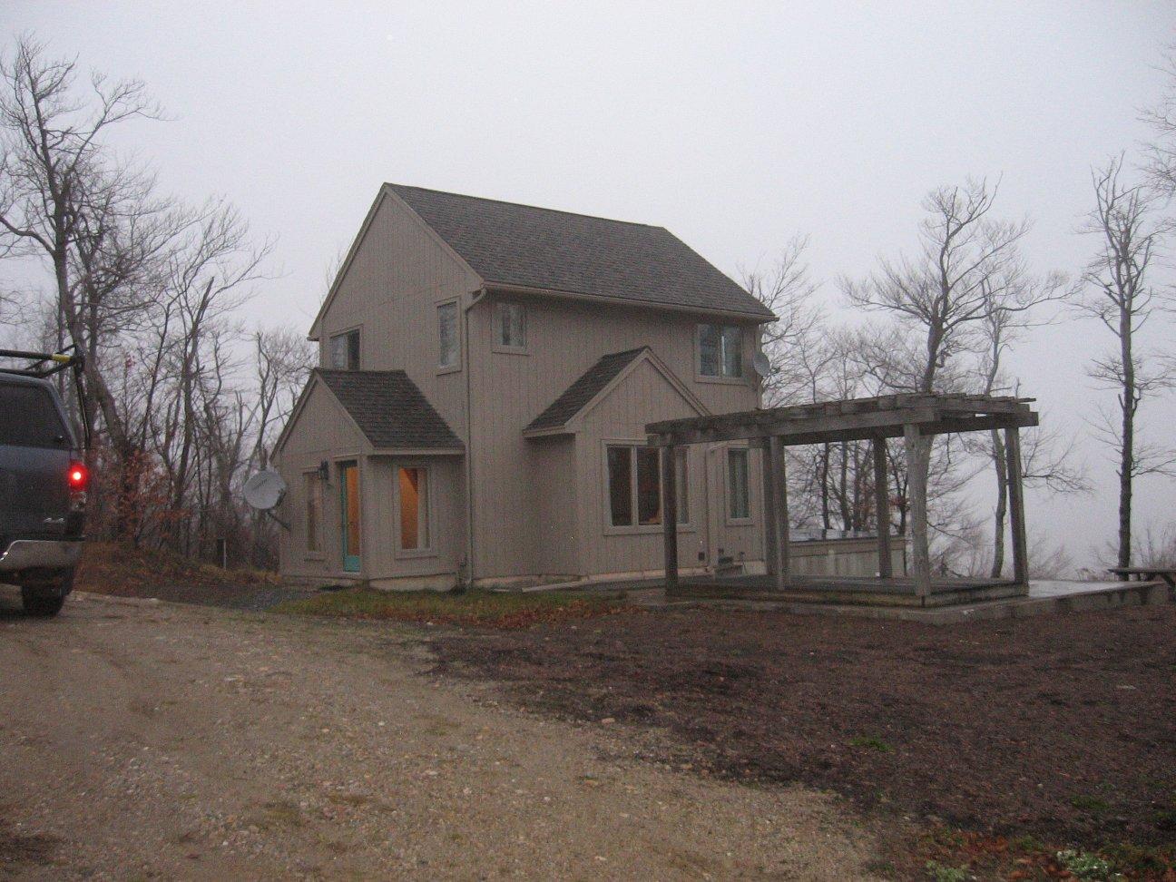 Custom home before
