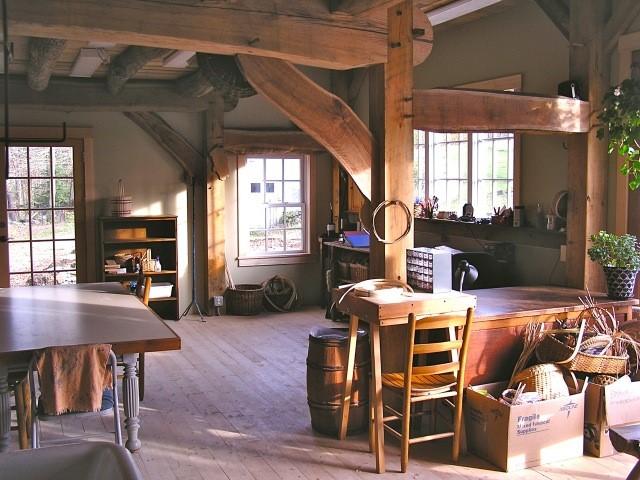 Dutch barn timber frame