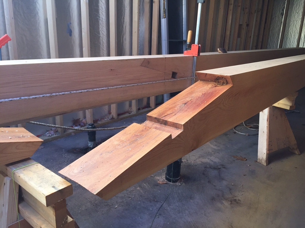 Timber Scarf Joints