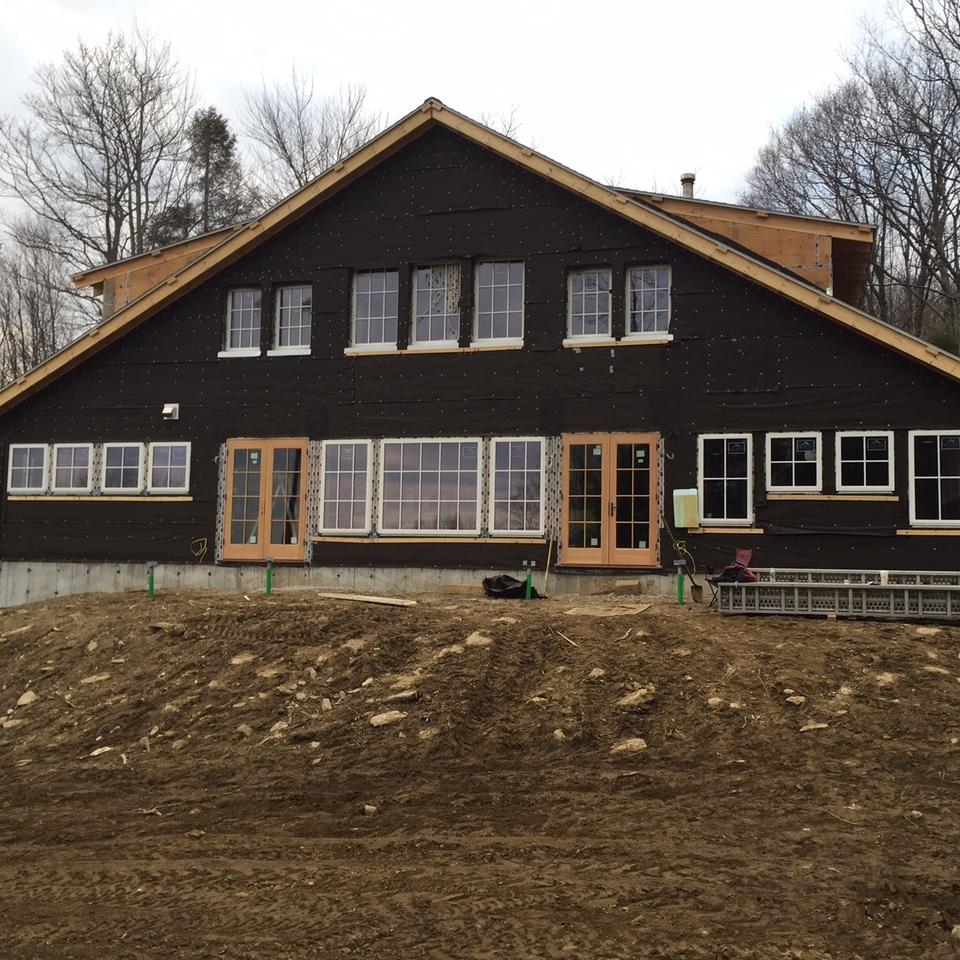 Berkshire hybrid timber frame  (in progress)