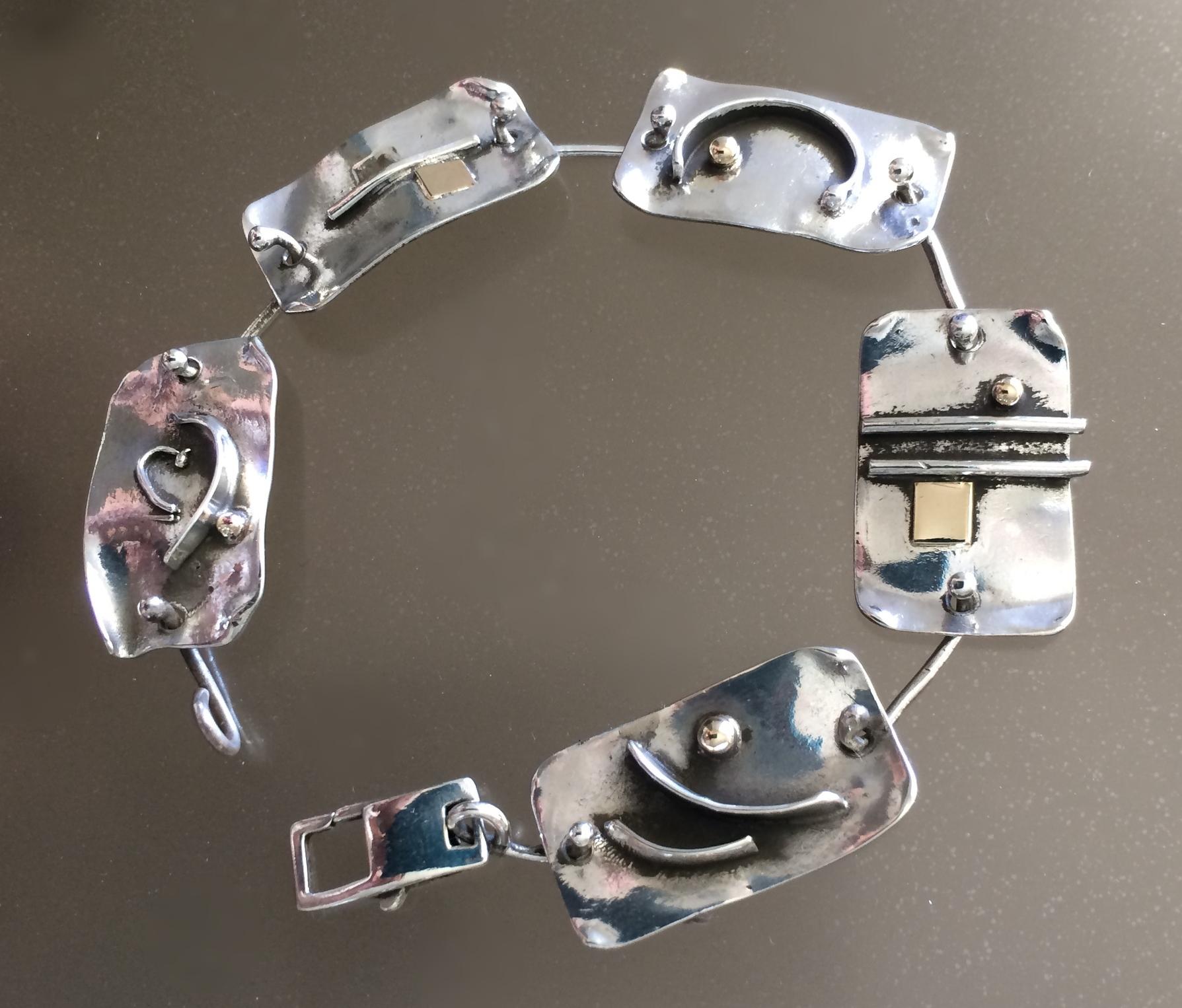 Mixed Textured Bracelet