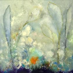 Spring Blossoms - David E Gordon - Oil