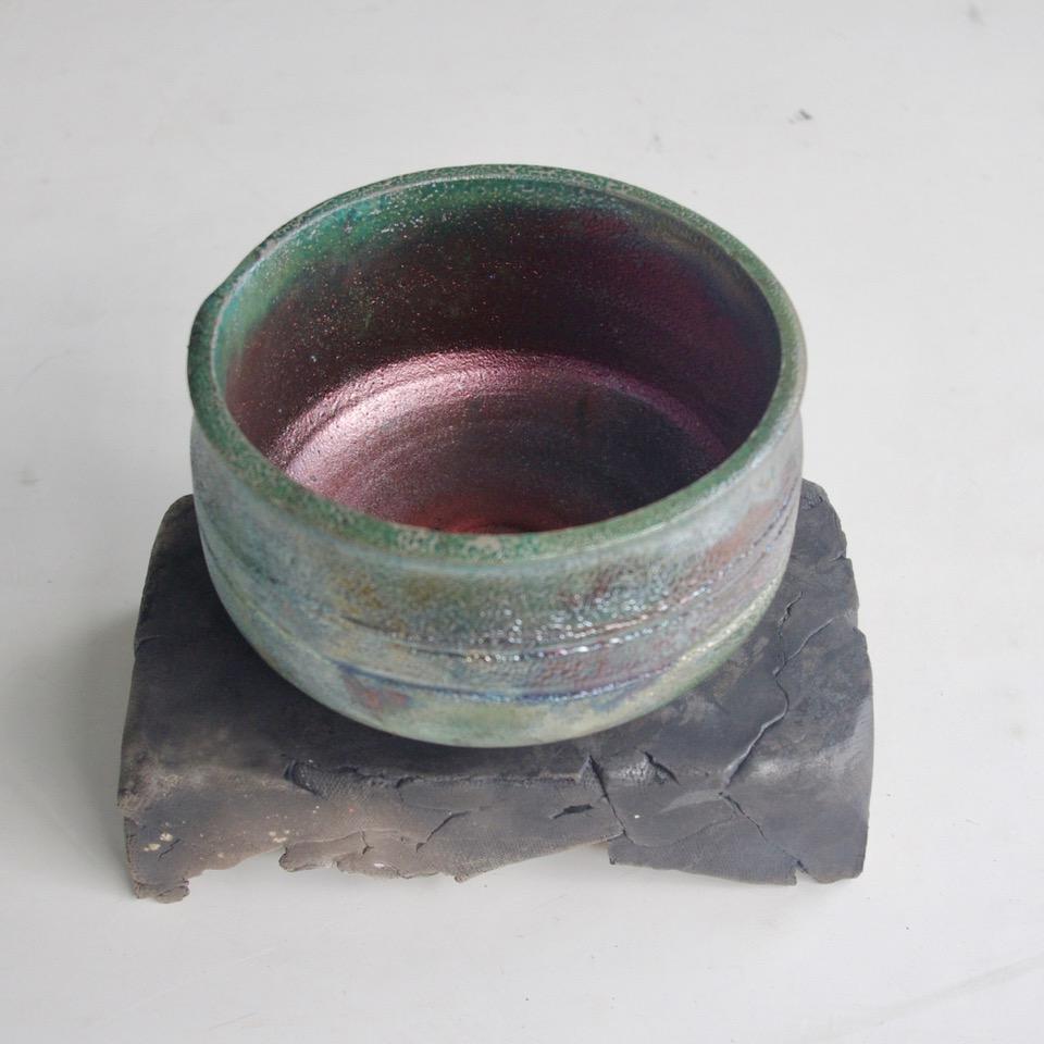 James Brunelle - Raku Fired Pottery, New Britain, CT