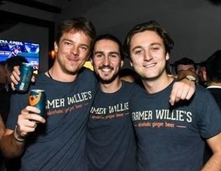 Farmer Willie's<br>Craft Ginger Beer Team