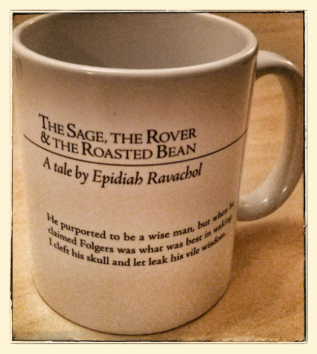 """The Sage, the Rover & the Roasted Bean"" Mug"