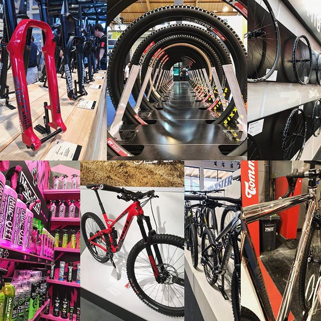Had a great day @eurobike_show (thanks for letting me in)! Special thanks to @mucoff and @cushcore for the nice chat and the goodies. 😜 ... @doddstar1979 from @gmbntech was there as well! .... #eurobike #bikepornoverdose #shinythings #mountainbike #enduro #mtb #mountainbike #bikelife