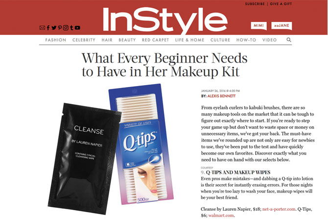 What Every Beginner Needs to Have in Her Makeup Kit - InStyle Magazine