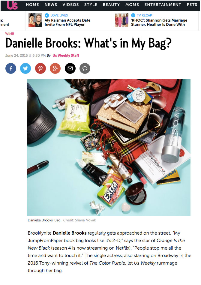 Danielle Brooks: What's in My Bag? - US Weekly