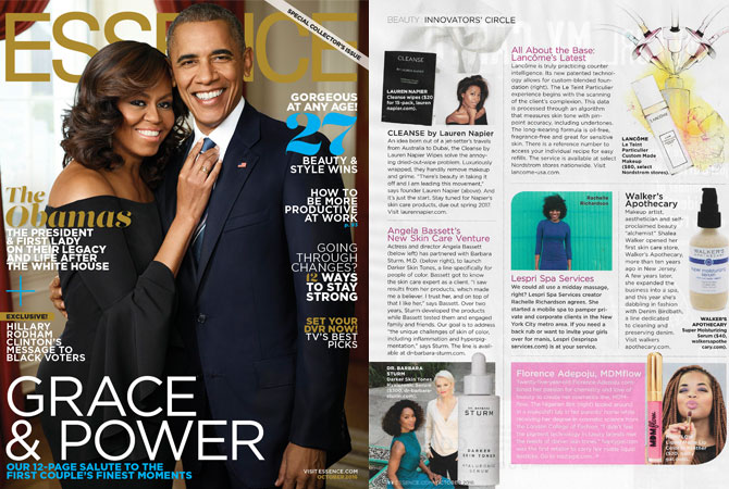 Essence Magazine , Grace and Power