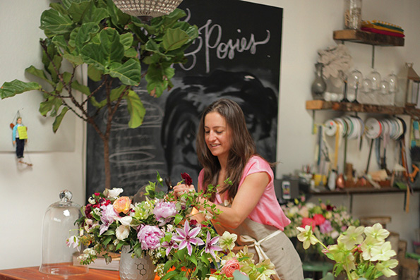 Poppies and Posies Founder