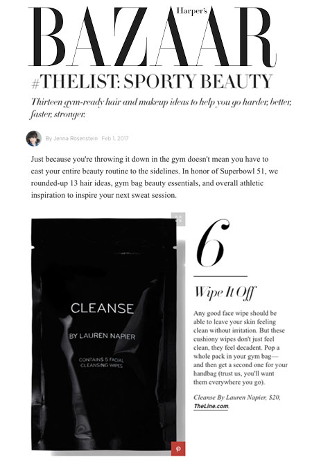 Harper's Bazaar - #THELIST: SPORTY BEAUTY Thirteen gym-ready hair and makeup ideas to help you go harder, better, faster, stronger.