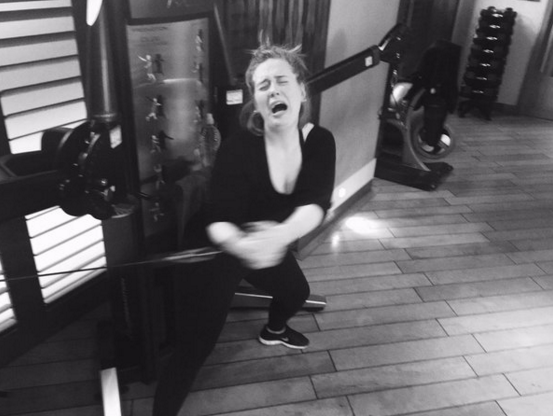 ADELE - WORKING OUT