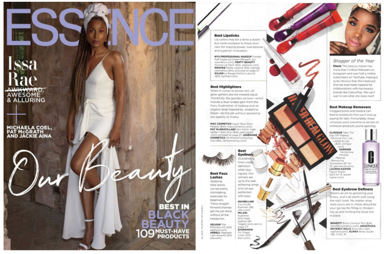 FLAUNT BY LAUREN NAPIER ESSENCE BEST OF BEAUTY