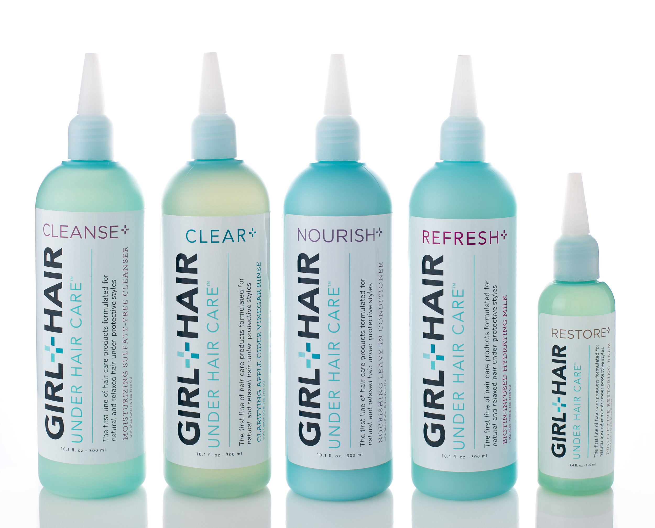 girl + Hair hair care collection