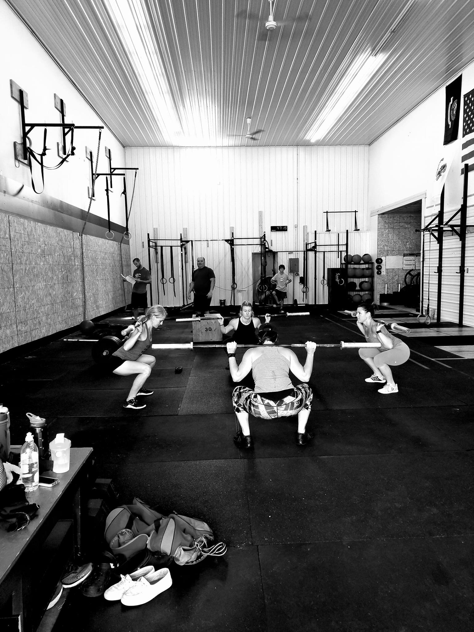My happy place. My love for fitness and friends. -